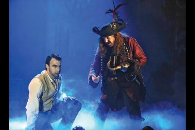 Kirk Lawrence Captain Hook and showmaster Charles Frohman Finding Neverland