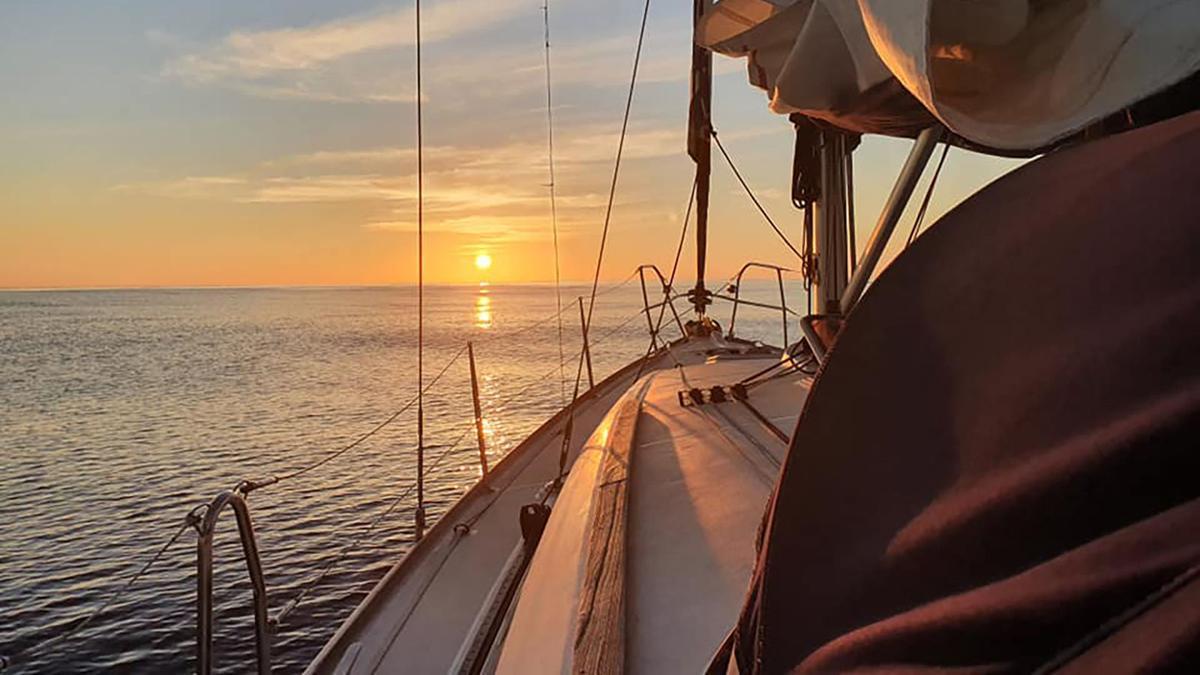 Stuck at sea