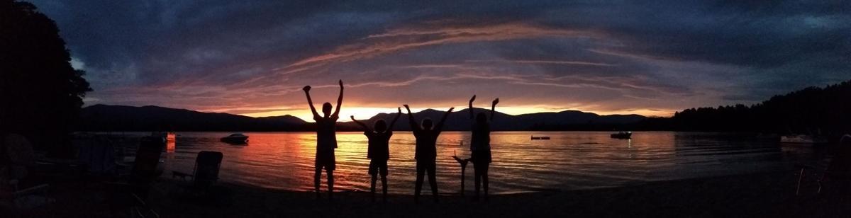 Webb Lake Sunset