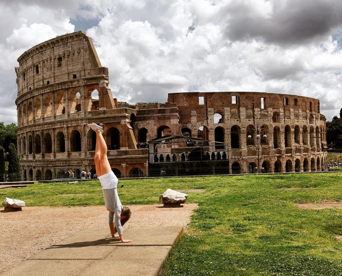 The Colosseum, young and old