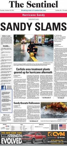 The Sentinel (Carlisle, Pa.), October 30, 2012