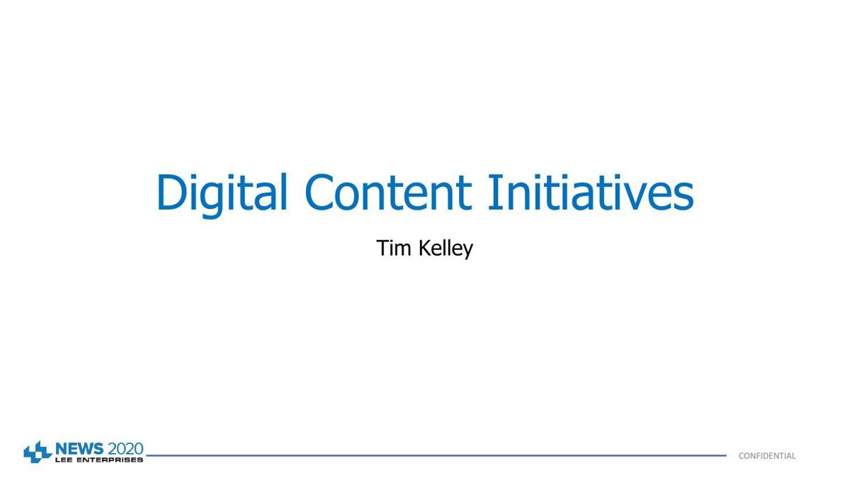 Digital Content Initiatives