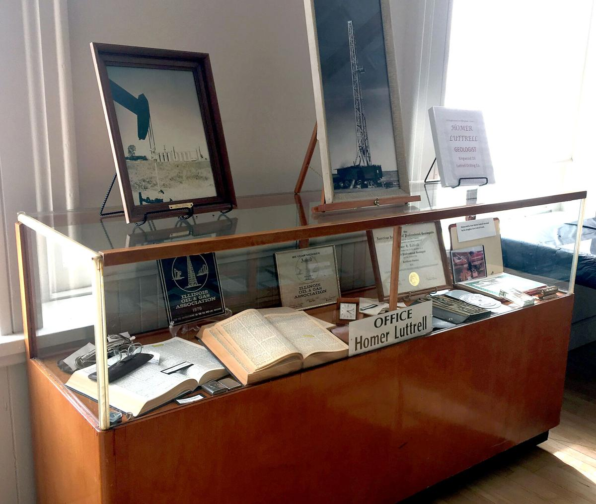 Pic 1 Luttrell display case at Museum.jpg