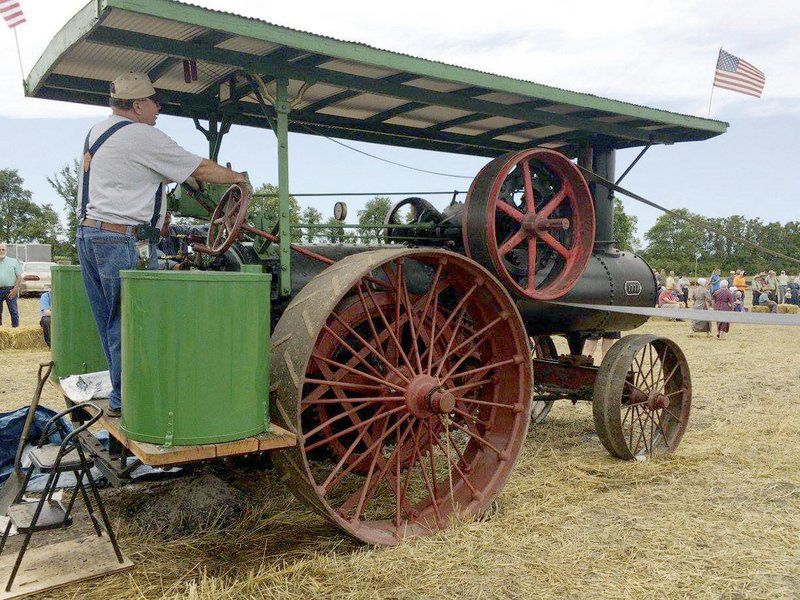 Travel back in time with Steam Threshing Event