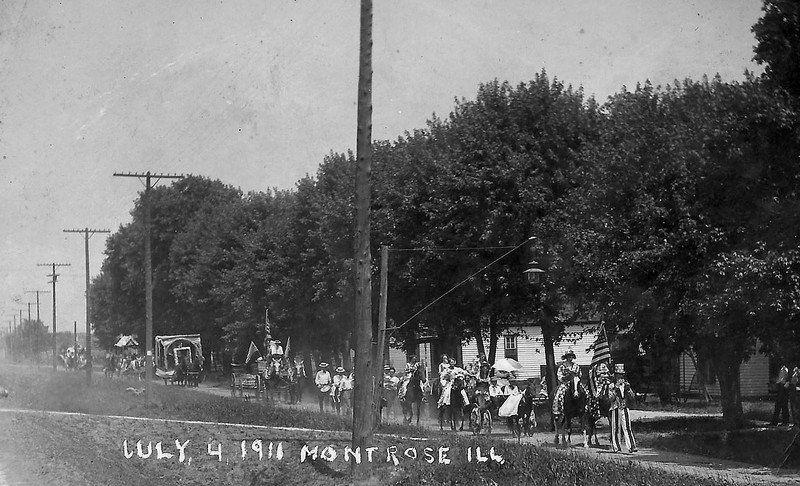 Montrose, Illinois: A Scottish-named village | History