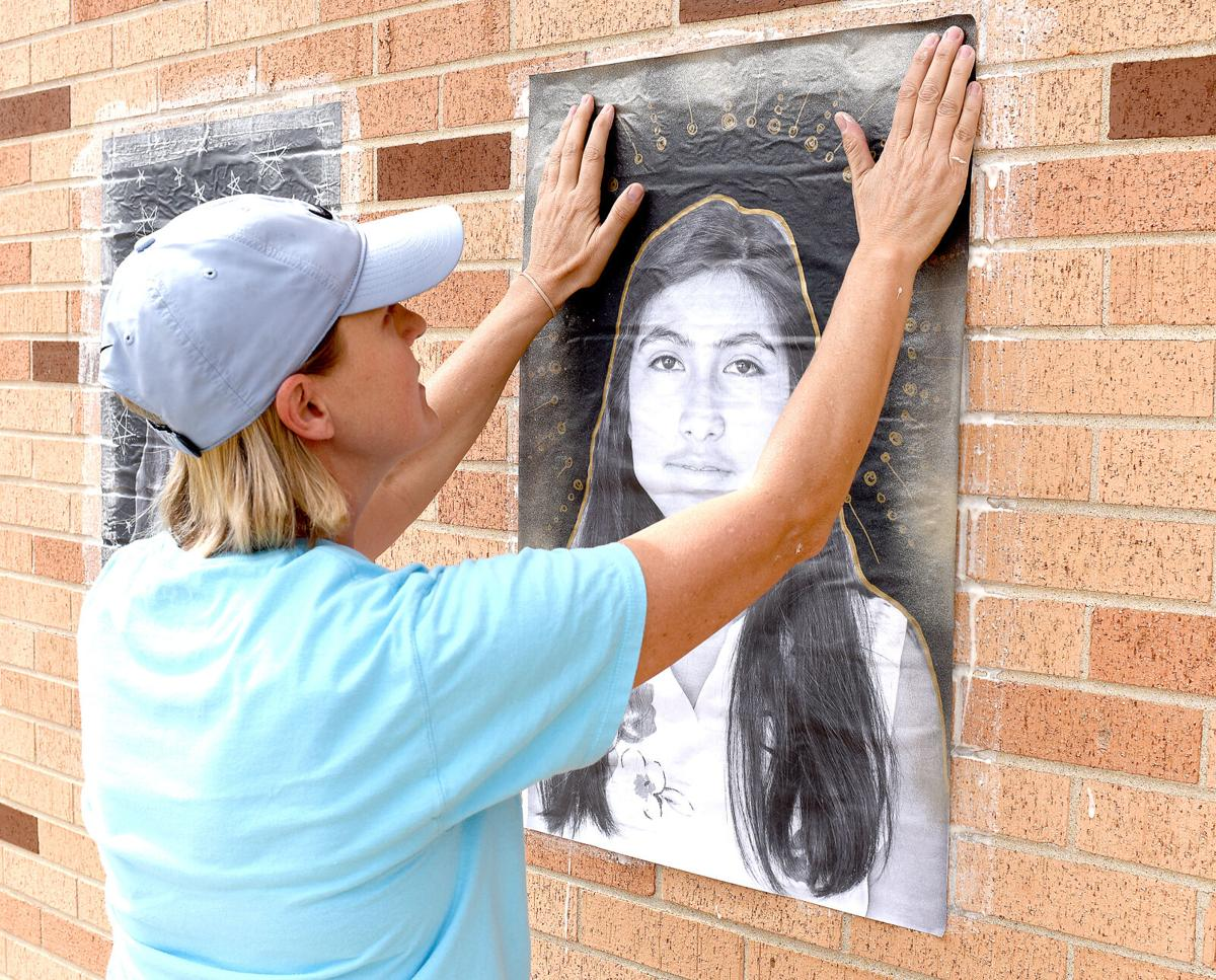 Library uses grant money to fund portrait project in downtown Effingham