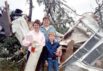Jasper Focus: Boy inspired by Newton tornado 30 years ago
