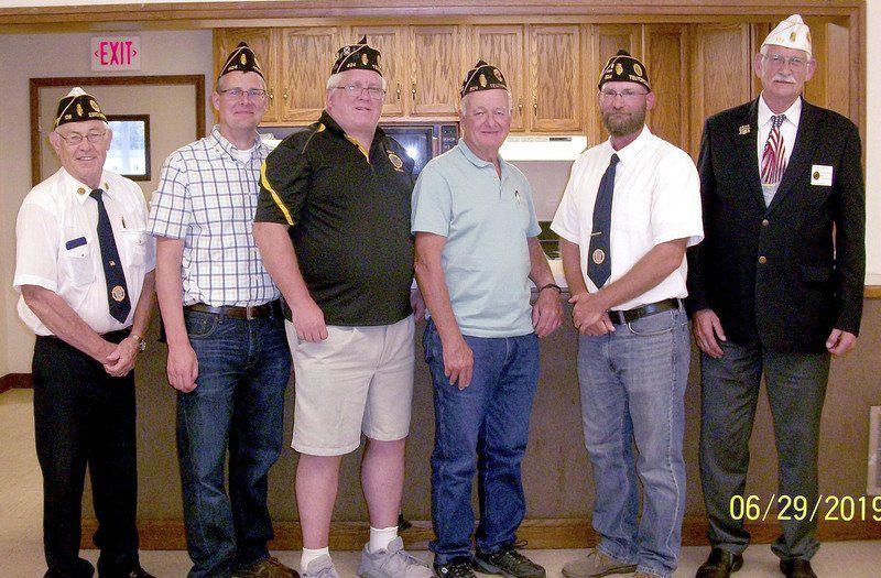 Teutopolis Legion installs officers