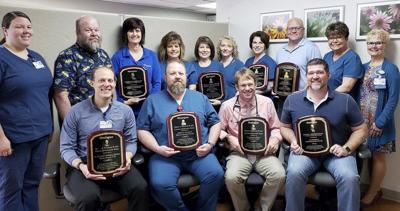 St. Anthony's Wound Healing Center honored
