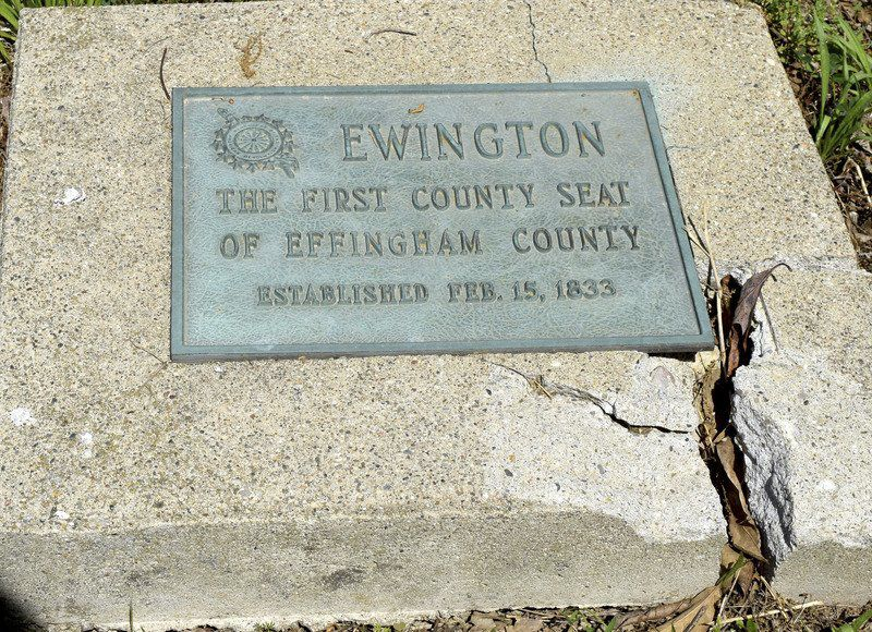 EDN Bicentennial Series: Ewington was first Effingham County seat