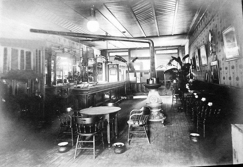 Early Effingham Liquor Establishments -- Saloontown USA