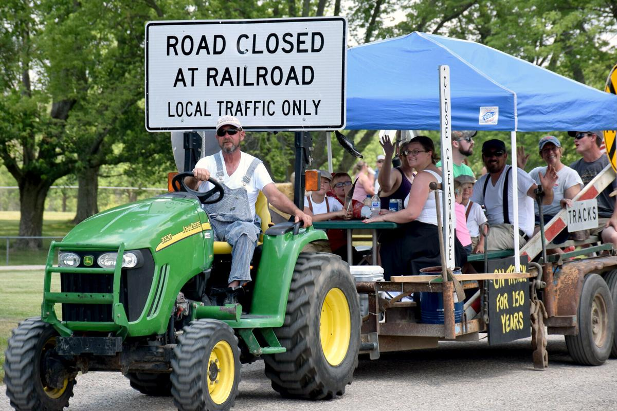 Montrose residents organize tractor ride for village sesquicentennial