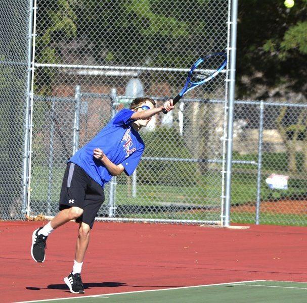 St. Anthony Tennis beat Paris