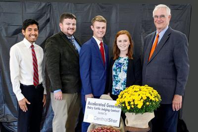 Local student competes in collegiate dairy cattle judging contest