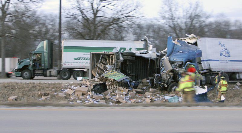At least 1 injured in I-70 accident | Local News