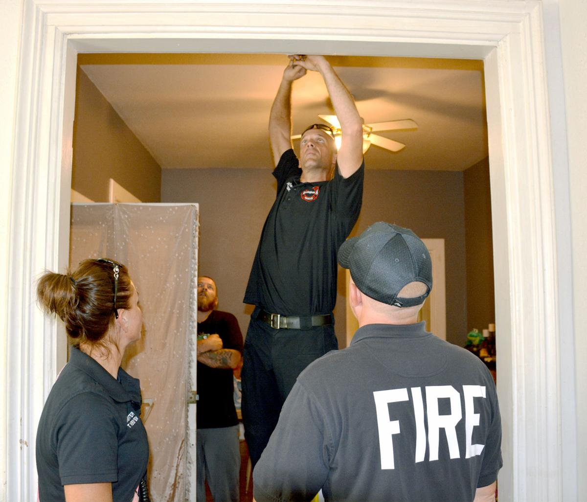 """Effingham fire participates in """"A Day of Service"""""""