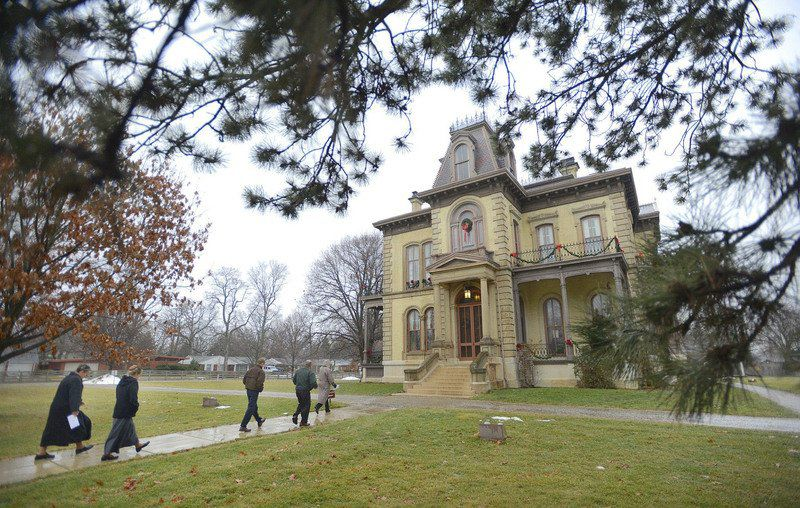 Bloomington's David Davis Mansion home to Abraham Lincoln's strongest advocate