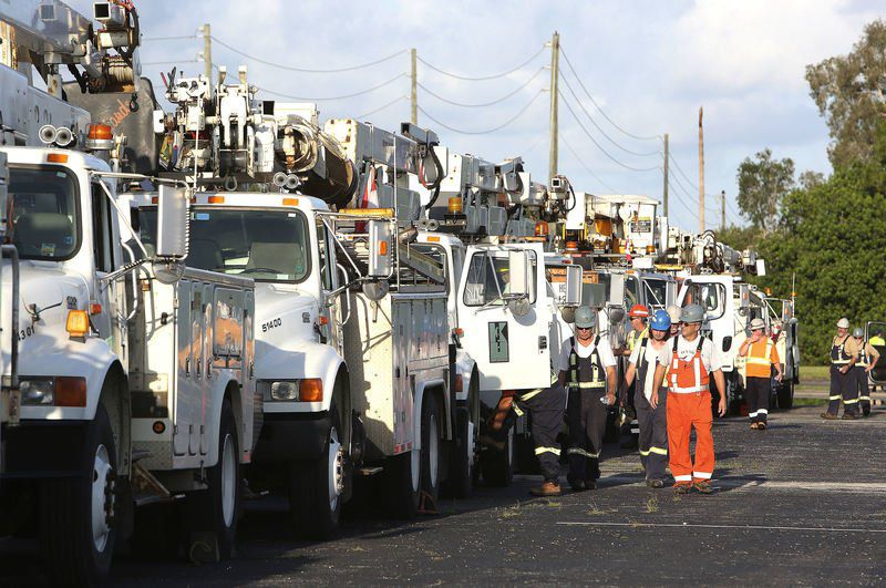 Georgia Power restores electric service to 270000, continues field work