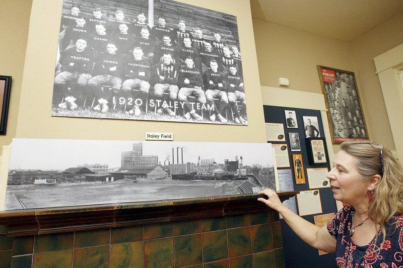Chicago Bears NFL franchise began in Decatur as the Staleys