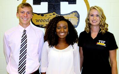 THS names students of month for October