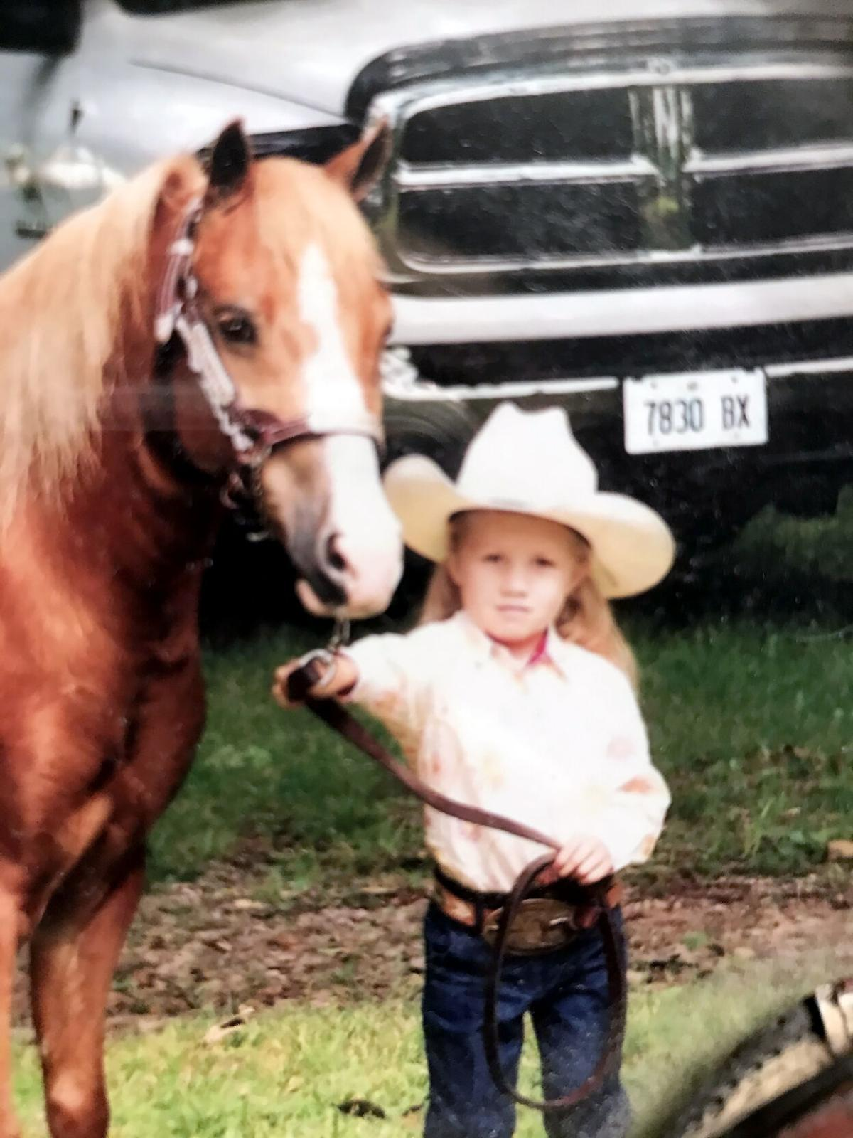 Teen's love of horses more than just show