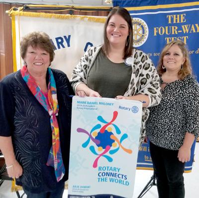 Rotary District Governor visits Effingham
