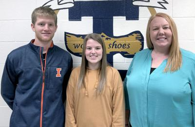 THS names Students of the Month