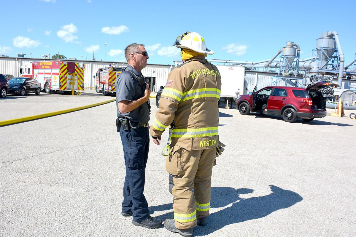 Firefighters respond to fire at Quad Graphics