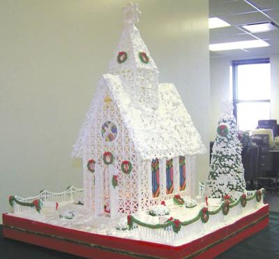 Effingham resident recreates Christmas scene with royal icing ... on