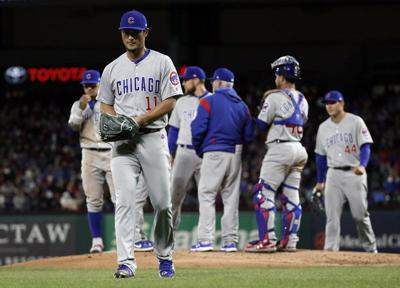 Gallo, Rangers rally to beat Cubs 8-6 after Darvish flops