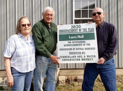 Larry Hall named Cumberland Conservationist of the Year