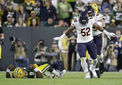 APTOPIX Bears Packers Football