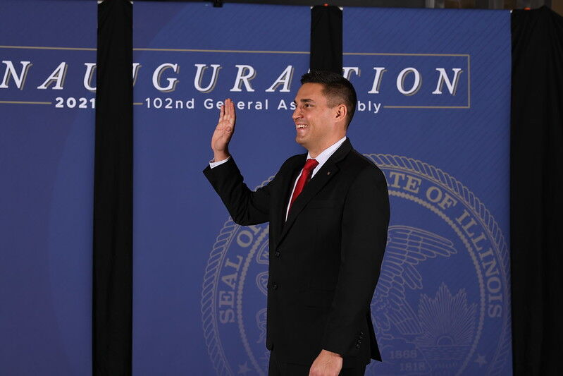 Adam Niemerg sworn in to 102nd General Assembly