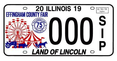 Effingham County Fair offering special vehicle plates