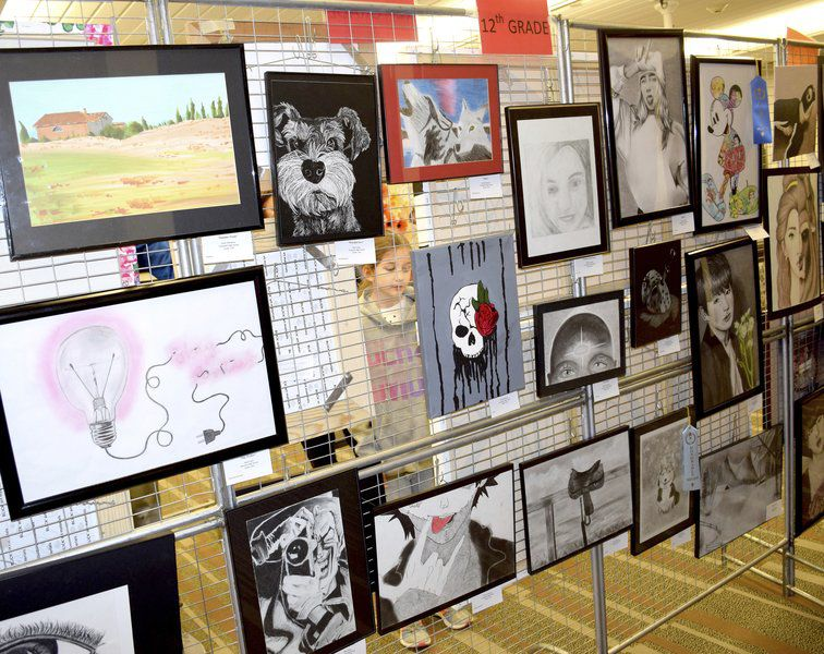 Children display talents at art show