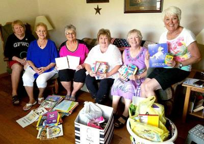 Women of Today collect donations for school supplies, shoe project