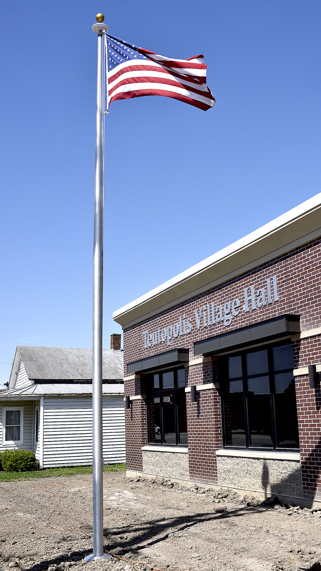 Village Hall flag