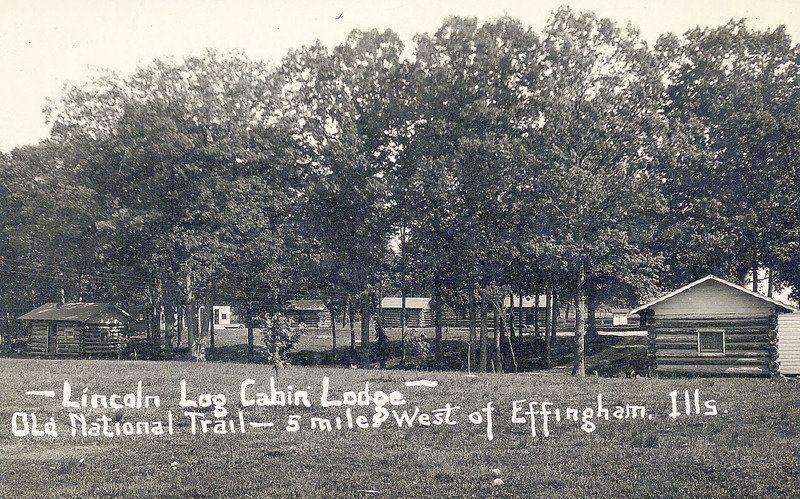 Vintage roadside motor courts along the National Road