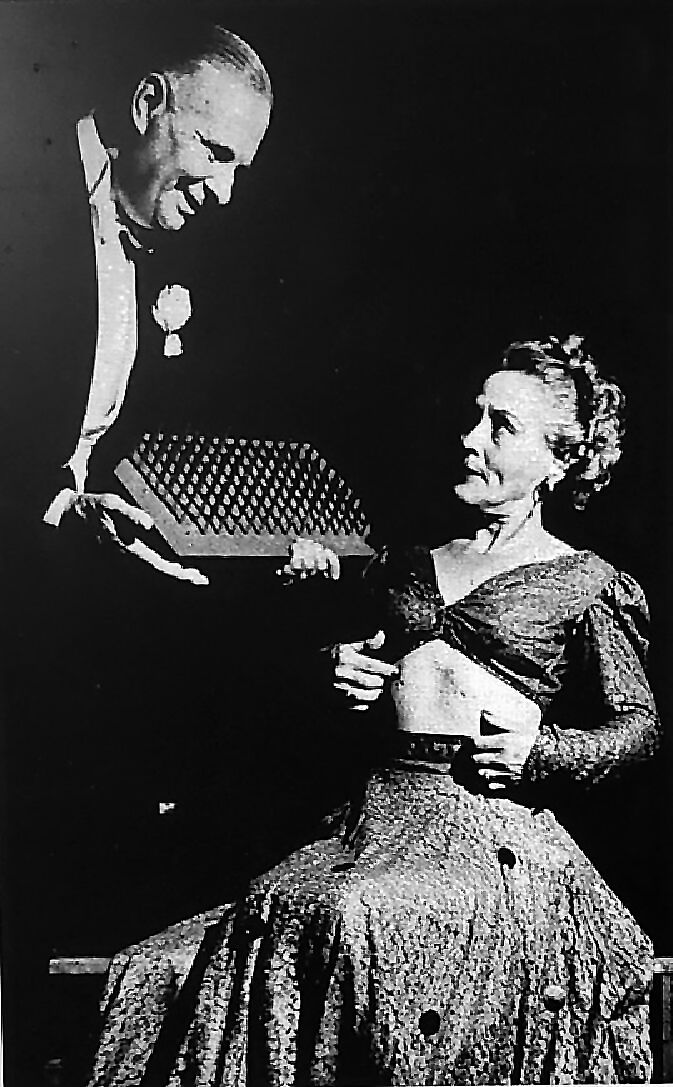 David B. Coleman and wife Pauline Coleman in magic show.jpg