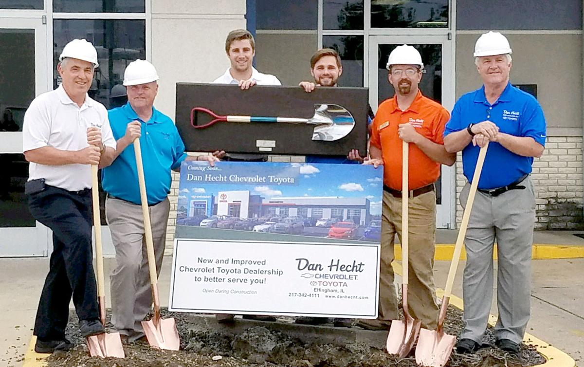 Groundbreaking Marks Fifth Expansion At Hecht Location Local News Effinghamdailynews Com