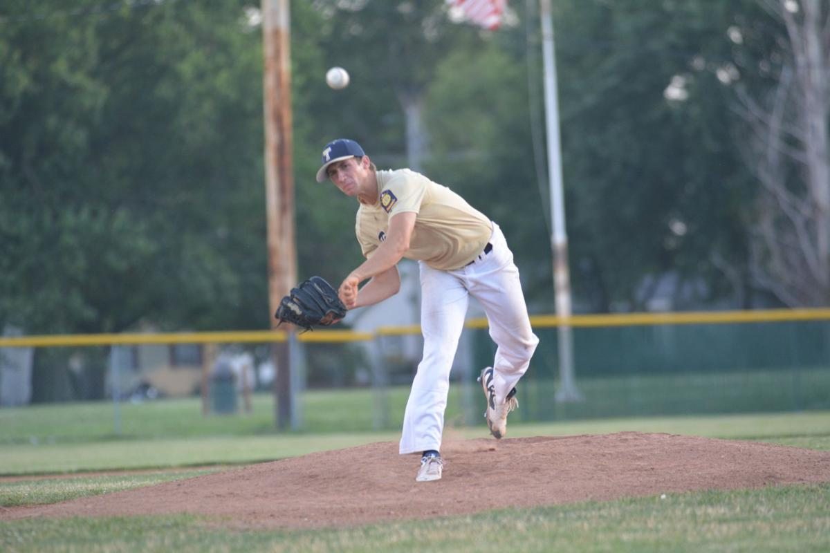 Illinois effingham county teutopolis - Teutopolis Post 924 S Andy Borries Fires A Pitch Toward An Unseen Vandalia Post 95 Batter At The District Tournament Sunday In Robinson