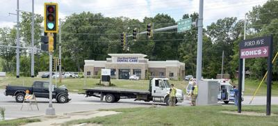 Trucks collide in two-vehicle accident