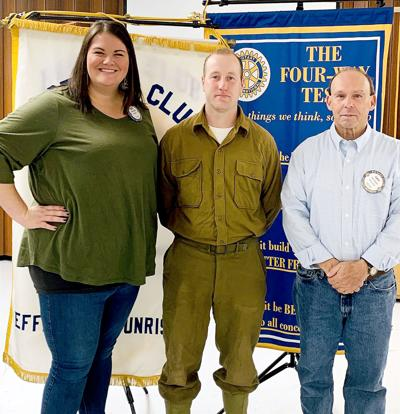 WWII reenactor shares experiences at Sunrise Rotary