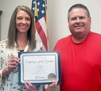 Amy Beckman named Effingham Employee of the Quarter