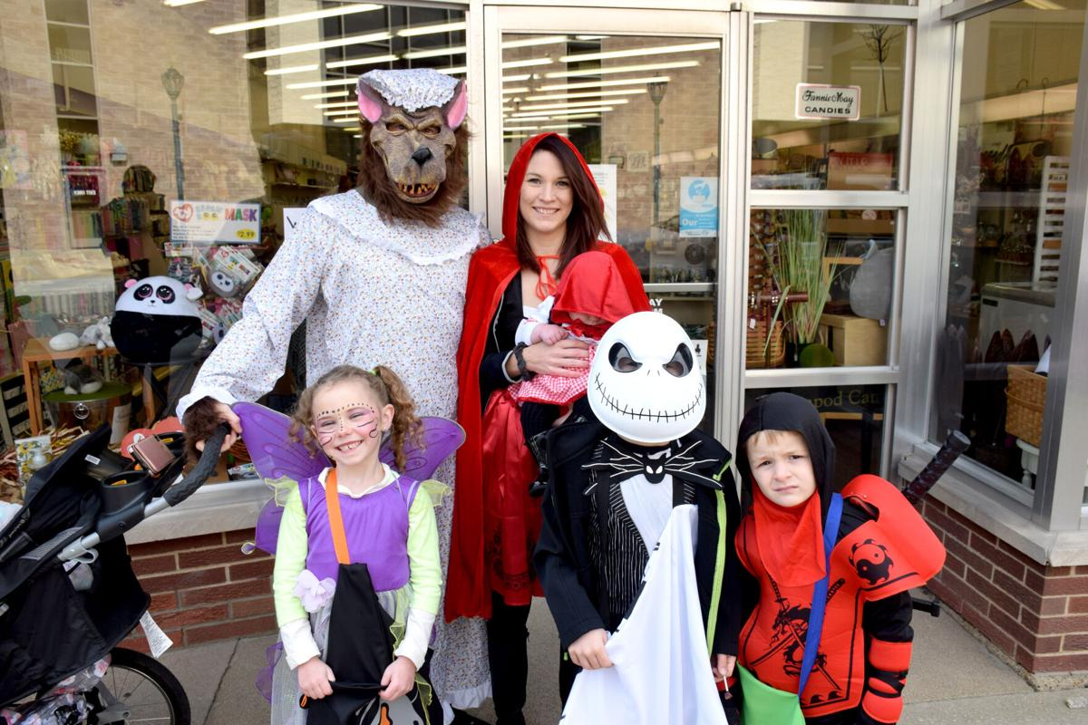 Downtown businesses celebrate Halloween with trick or treat