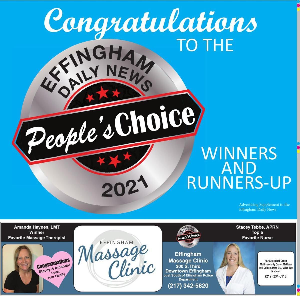 2021 People's Choice winners