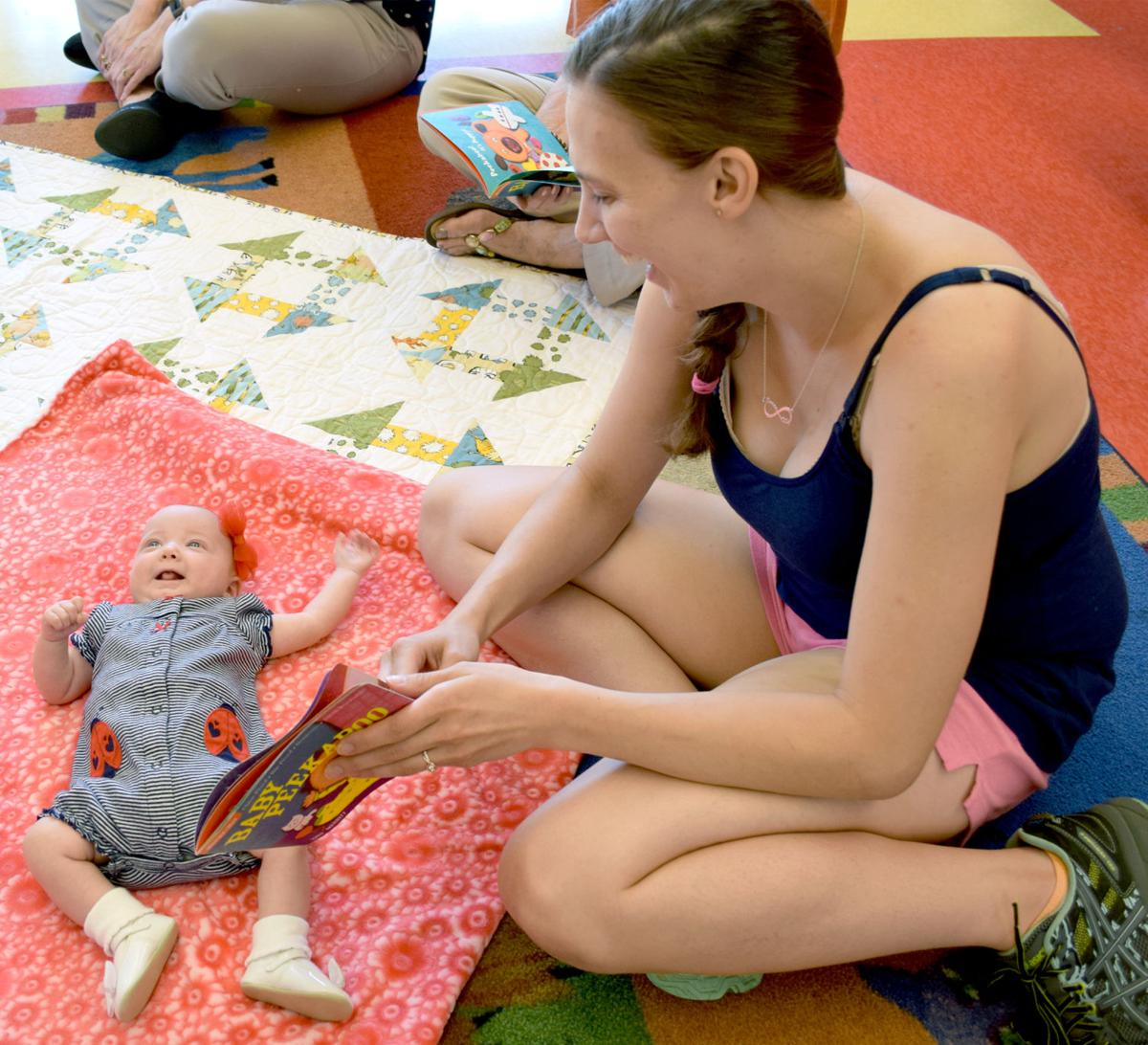 'Talk to Baby' offered monthly at public library