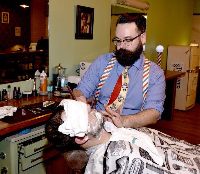 New Barbershop Gives Old Time Feel Local News Effinghamdailynews
