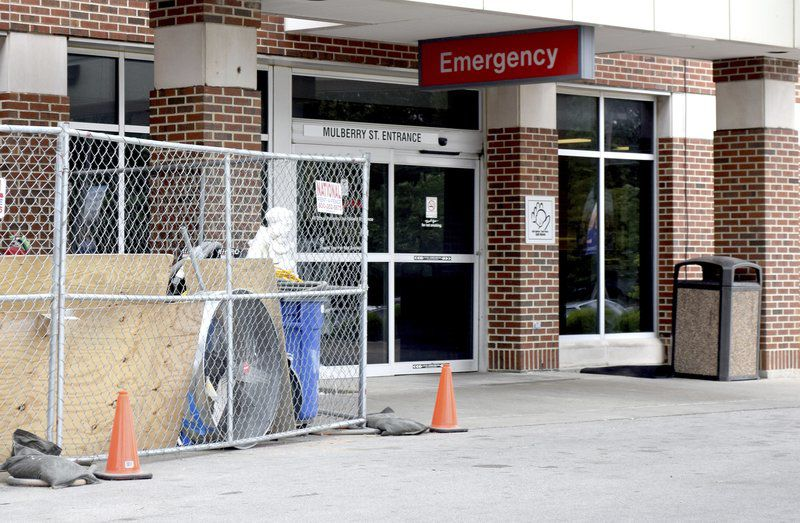 Hospital emergency entrance temporarily relocated local news hospital emergency entrance temporarily relocated altavistaventures Image collections