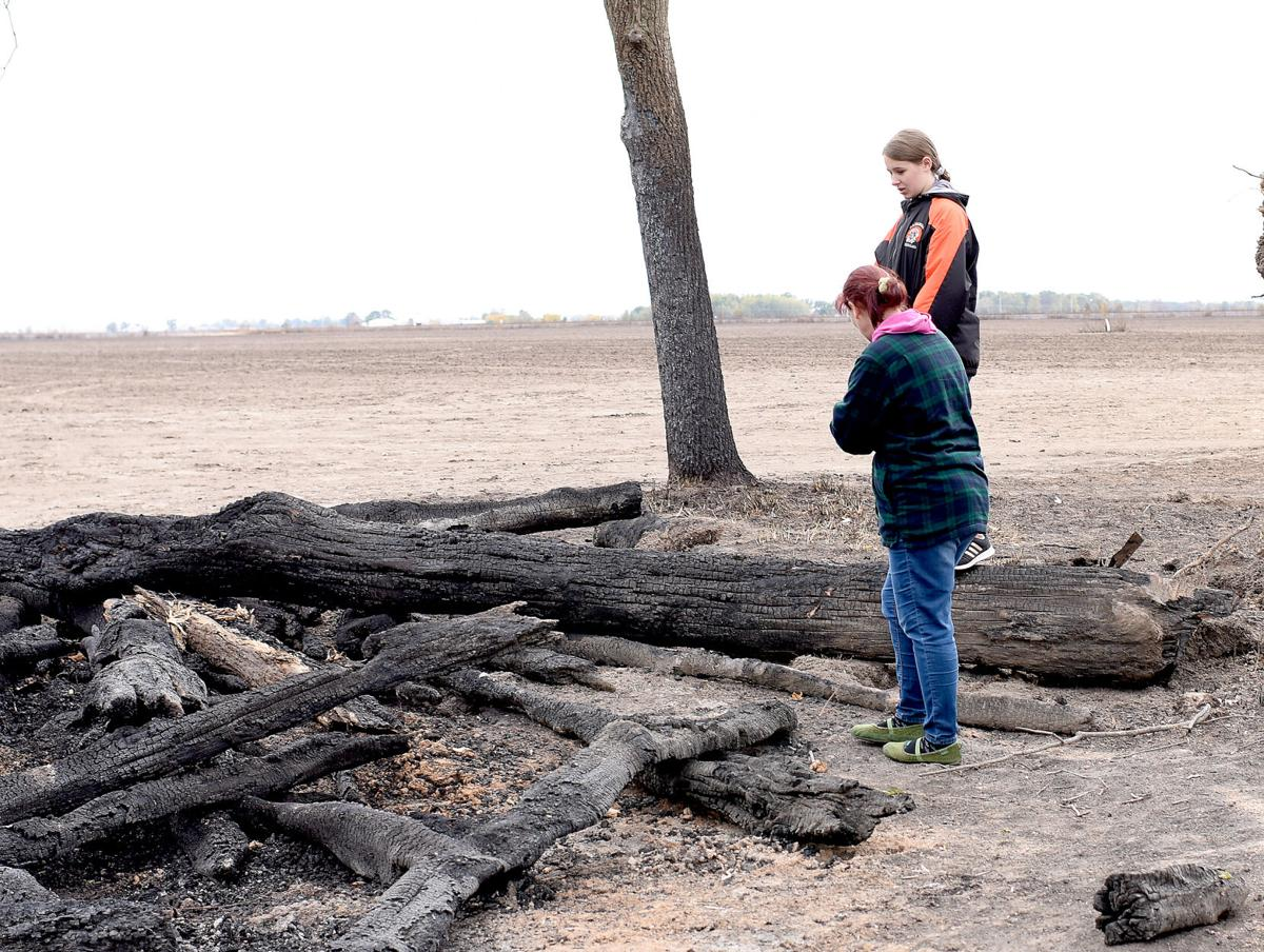 Area field fires kept region's firefighters busy Wednesday